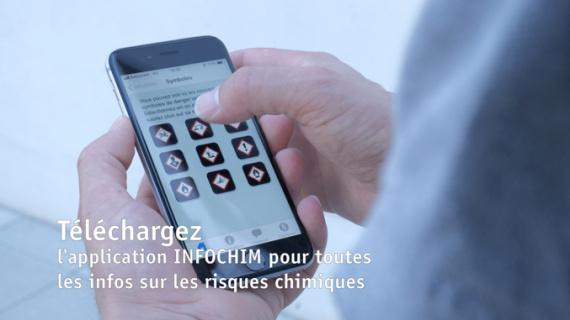 Application Infochim pour la sécurité et la prévention des accidents