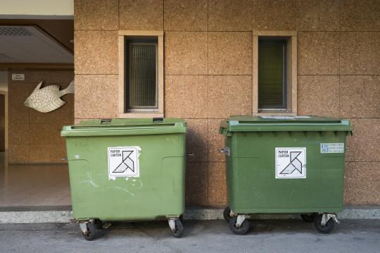Le nettoyage des containers