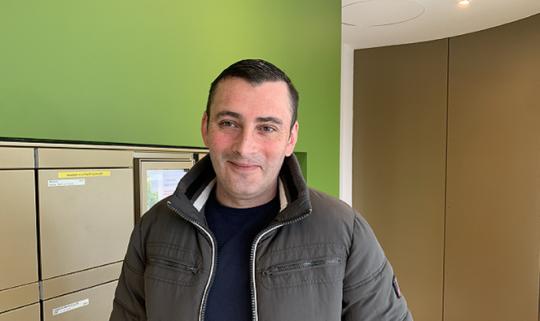Diogo Guerra, concierge professionnel à Genève