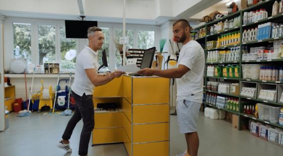 Shop produits de nettoyage Lausanne Suisse